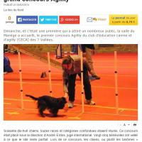Agility concours Hesdin 68 chiens