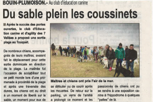 Article abeille de la ternoise 22.09.2016